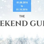 Weekend Guide January 8-10, 2016
