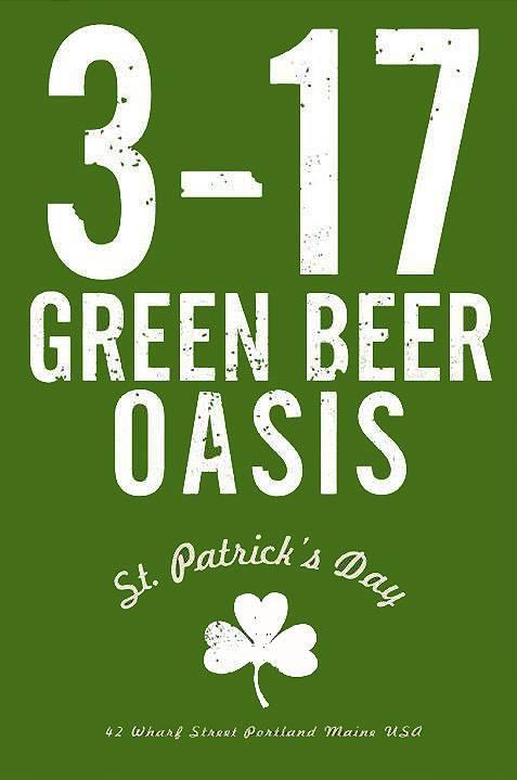 3 – 17 Green Beer Oasis