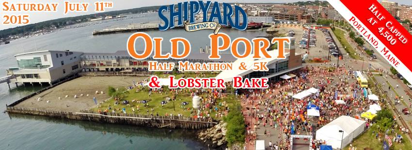 Shipyard Brewing Old Port Half Marathon & 5K & Lobster Bake