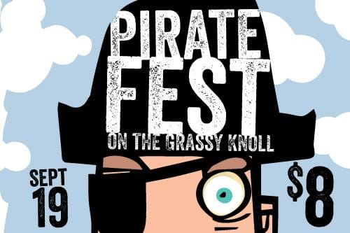 Pirate Fest on the Grassy Knoll