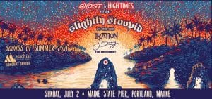 Slightly Stoopid Live in Portland • Sounds Of Summer 2017 @ Maine State Pier