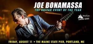 Joe Bonamassa @ Maine State Pier