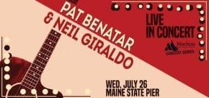 Pat Benatar and Neil Giraldo @ Maine State Pier