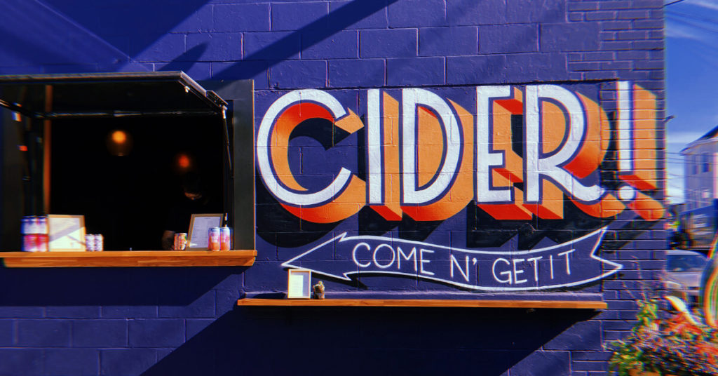 Anoche Cider Portland Maine
