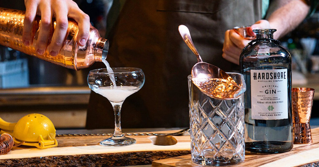 Hardshore Distilling Portland Maine