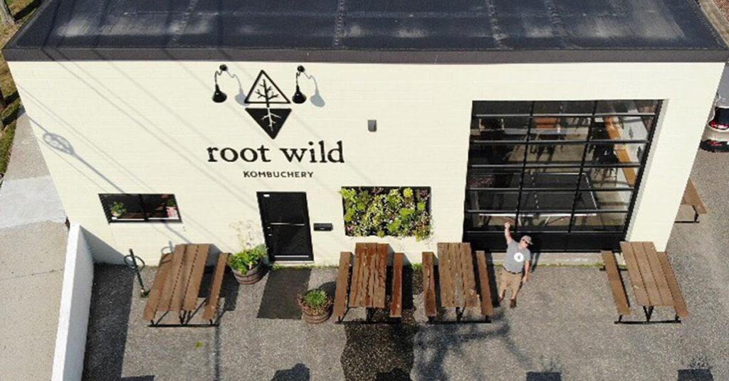 Root Wild Kombucha Portland Maine