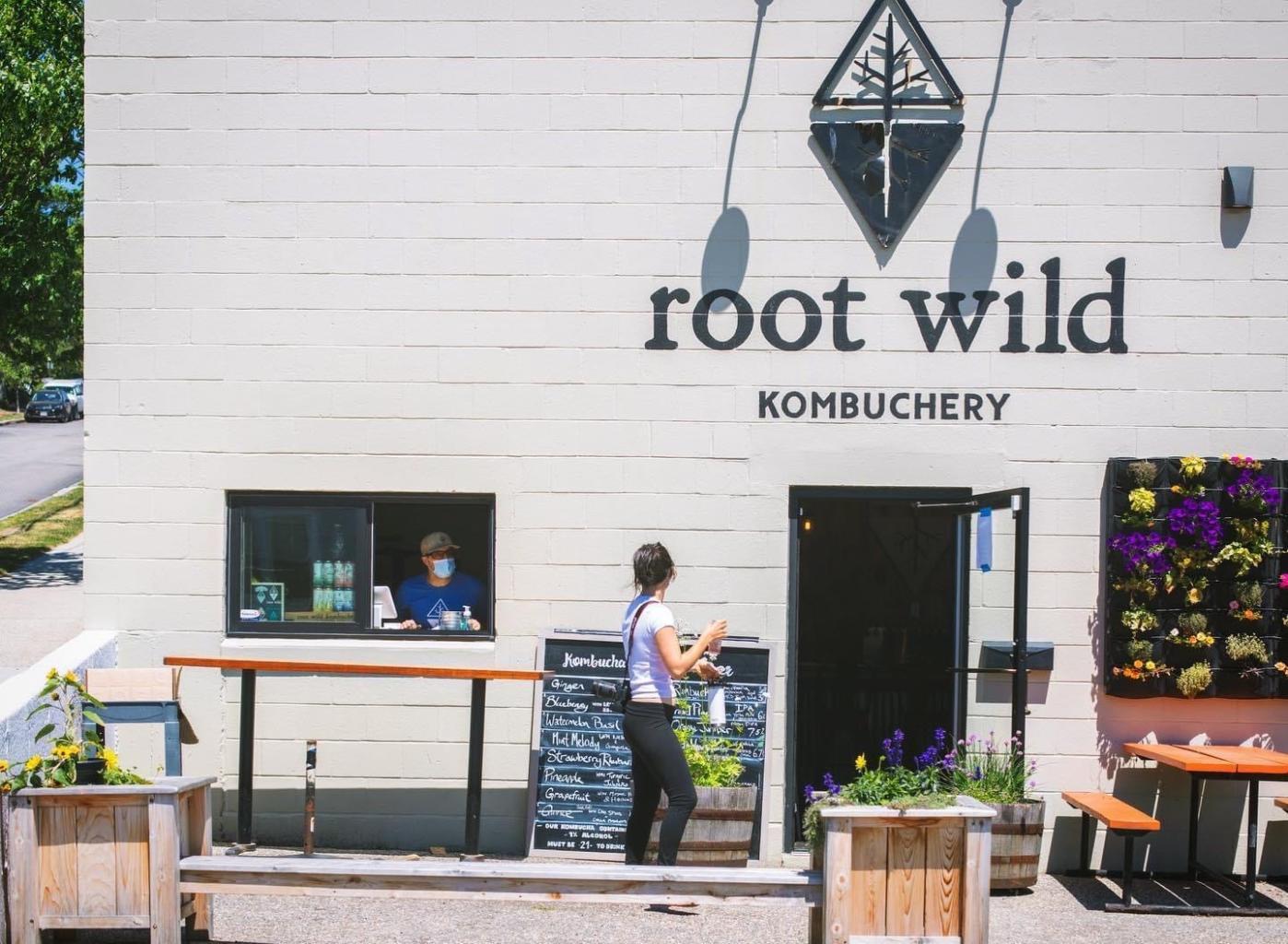 Root Wild Kombucha