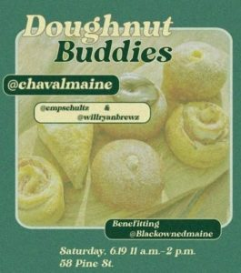 Doughnut Buddies for Black Owned Maine @ Chaval | Portland | Maine | United States