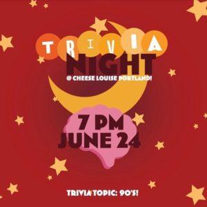 Trivia Night @ Cheese Louise | Portland | Maine | United States