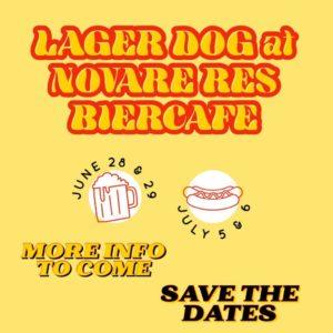 Lager Dog Pop-Up @ Novare Res Bier Cafe | Portland | Maine | United States