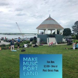 Fun Run @ Post Office Park | Portland | Maine | United States
