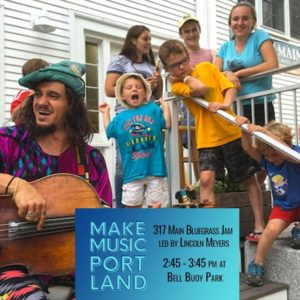 317 Main Bluegrass Jam Led By Lincoln Meyers @ Bell Bouy Park   Portland   Maine   United States