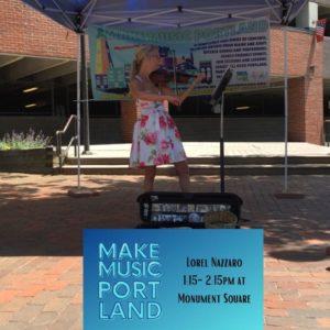 Lorel Nazzaro @ Monument Square | Portland | Maine | United States