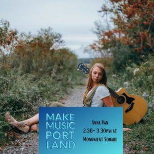 Anna Van @ Monument Square   Portland   Maine   United States