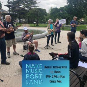Ukulele Lessons with Lee Urban @ Post Office Park   Portland   Maine   United States