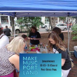 Junkophonics @ Post Office Park | Portland | Maine | United States