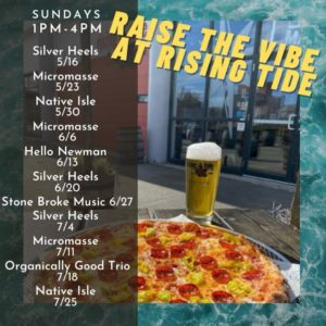 Raise the Vibes: Organically Good Trio @ Rising Tide Brewing Company | Portland | Maine | United States