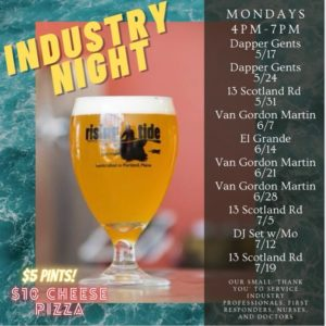 Industry Night @ Rising Tide Brewing Company | Portland | Maine | United States