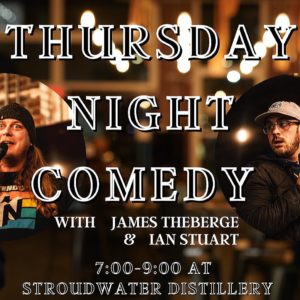 Comedy Night @ Stroudwater Distillery | Portland | Maine | United States