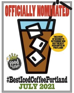 Portland Food Fights Best Iced Coffee Competition @ Multiple Coffee Shops Across Portland | Portland | Maine | United States