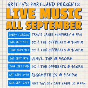 Travis James Humprey @ Gritty McDuffs | Portland | Maine | United States