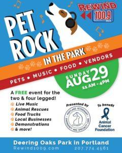 Pet Rock In the Park 2021 @ Deering Oaks Park | Portland | Maine | United States