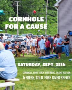 Cornhole for a Cause @ Fore River Brewing Company | South Portland | Maine | United States
