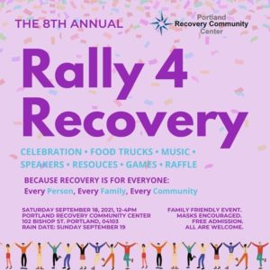 8th Annual Rally 4 Recovery @ Portland Recovery Community Center | Portland | Maine | United States