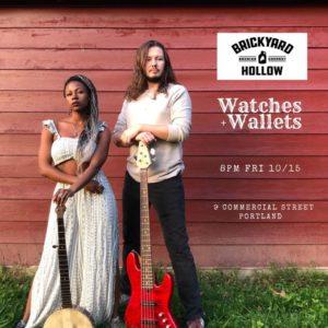 Watches Wallets at Brickyard Hallow Brewing @ Brickyard Hollow Brewing   Portland   Maine   United States