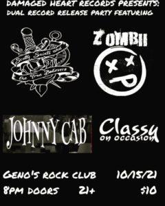 Dual Record Release at Geno's Rock Club @ Geno's Rock Club | Portland | Maine | United States