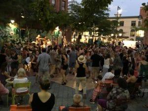 Salsa in the Square @ Congress Square Park