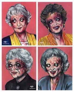 Golden Zombie Girls