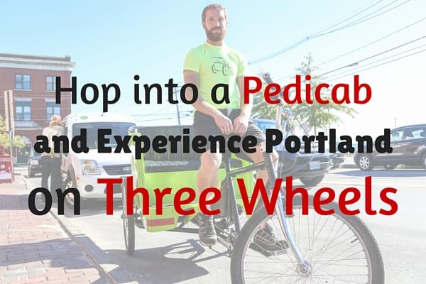 Hop into a Pedicab