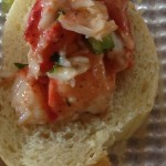 curried lobster roll bites