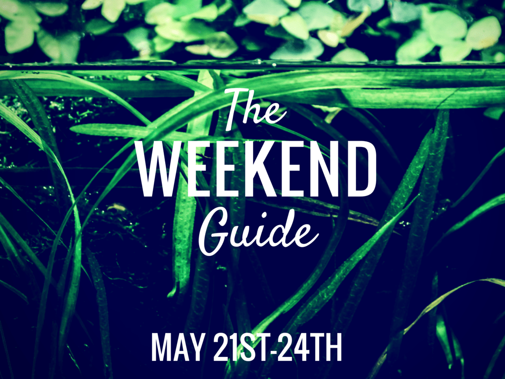 The Weekend Guide May 21st 24th