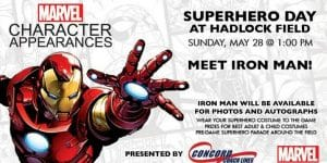 Superhero Day! @ Hadlock Field
