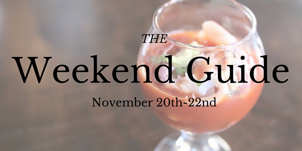 Weekend Guide September 20-22
