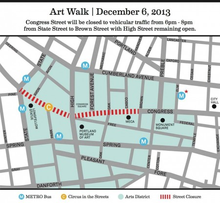 holiday art walk