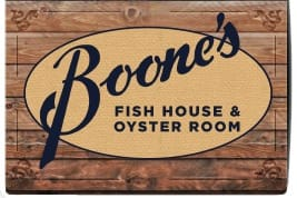 Boone's Happy Hours @ Boone's Fish House & Oyster Room