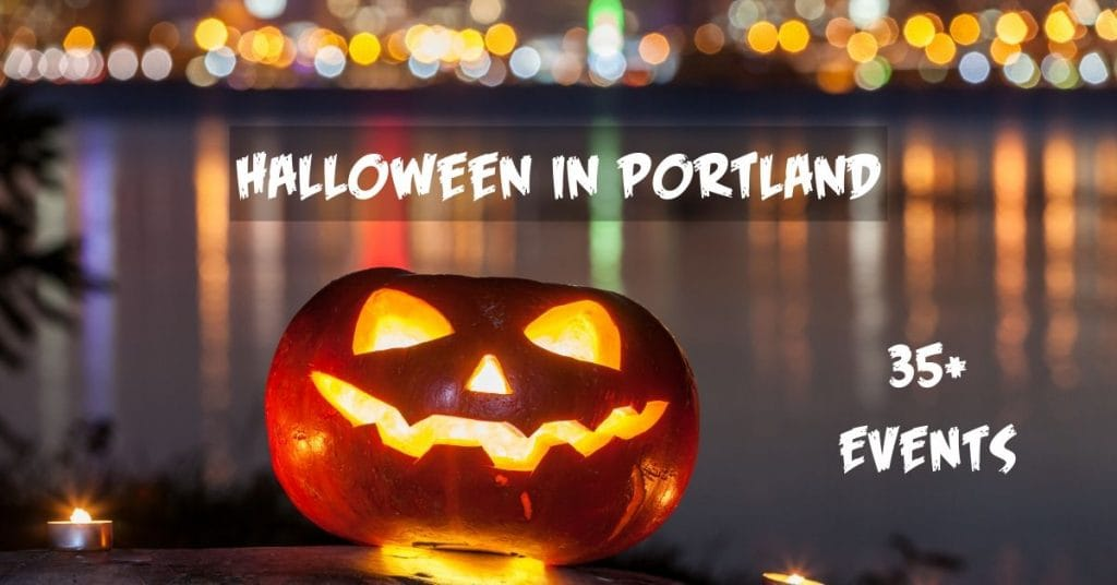 Halloween events in Portland Maine